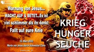 Warnung Jesus